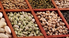 Various pulses in type case Stock Footage