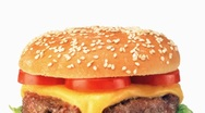Stock Video Footage of A double cheeseburger