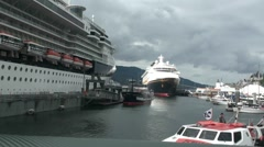 Ketchikan cruise ships Stock Footage