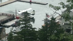 Ketchikan floatplane tours Stock Footage