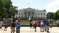 The White House - Washington DC Stock Footage