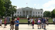 Stock Video Footage of The White House - Washington DC