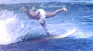 Stock Video Footage of WATERSKI BALLET Dancer Waterski Show 1950 (Vintage 8mm Home Movie Footage) 376