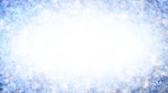 Frost background with luma matte second half is loopable Stock Footage