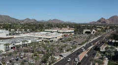 Phoenix city view Stock Footage