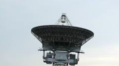 HD - Motion timelapse. Satellite radar tower Stock Footage