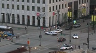 Chicago Downtown Traffic - Time Lapse Stock Footage