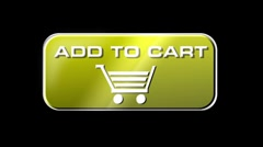 Online Shopping Add To Cart 04 yellow LOOP Stock Footage