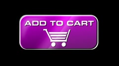 Online Shopping Add To Cart 05 pink LOOP Stock Footage