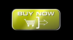 Online Shopping Buy Now 04 yellow LOOP Stock Footage