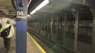 Stock Video Footage of 20110614 NYCSubway 2137