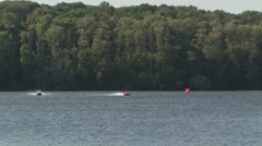 European Championship for powerboat sport. Footage_01. Stock Footage