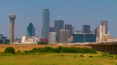 Dallas TX Skyline - HD Stock Footage