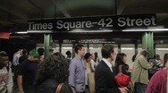Stock Video Footage of 20110614 NYCSubway 2346