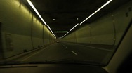 Montreal timelapse tunnel. Stock Footage