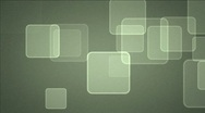 Fading squares on matted background Stock Footage
