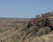 Pilbara landscape- Pilbara- Australia Stock Footage