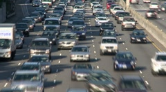 Los Angeles Traffic - Time Lapse Stock Footage