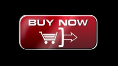 Online Shopping BUY NOW 4 in 1 with matte LOOP - stock footage