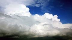 Storm clouds. Timelapse 1080p. Video without birds Stock Footage