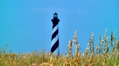 Cape Hatteras lighthouse 09 Stock Footage