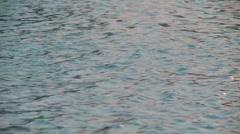 Water gently murmuring Stock Footage