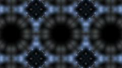 Kaleidoscope highlight pattern Stock Footage