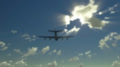 airplane - stock footage