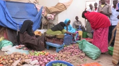 Somalia: Buying Food Stock Footage