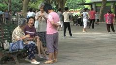 Zhongshan park Stock Footage