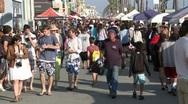 Venice Boardwalk - Time Lapse Stock Footage