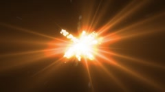 space explosion - stock footage