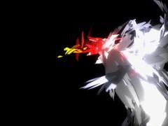 Shine Bird Transformer Animation Stock Footage