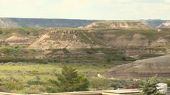 Royal Tyrrell Museum of Palaeontology, Drumheller, AB Stock Footage