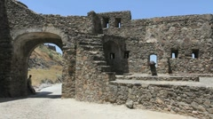 Marvao walls and gateway Stock Footage