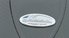 Pagani badge Stock Footage