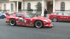 Dodge Viper in London Stock Footage