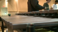 Percussion Instrument struck by mallets Stock Footage
