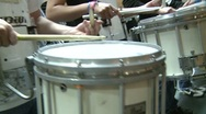 Stock Video Footage of Marching band drums (1 of 4)