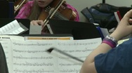 String Instruments Notes Stock Footage