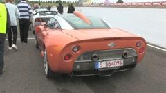 Spyker Aileron Stock Footage