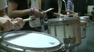 Stock Video Footage of Marching band drums (4 of 4)
