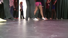 Set position and dance (1 of 2) Stock Footage