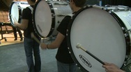 Stock Video Footage of Marching band drums (2 of 4)