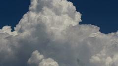 Cloud Peak Time Lase Stock Footage