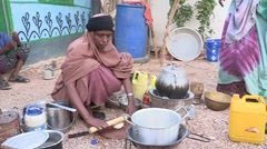 Somalia: Rolling out the Dough Stock Footage