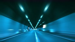 Tunnel abstract speed 12  Stock Footage