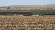 Farm , centeral California Stock Footage