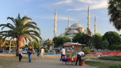 Sultanahmet Square Stock Footage