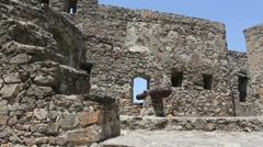 Marvao walls with canon Stock Footage